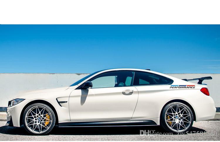 Car Styling Performance Arrière garde-boue De Voiture autocollants Decal Personnalité Extérieur Accessoires pour bmw e46 e39 e90 f30 f34 f10 x5 x6