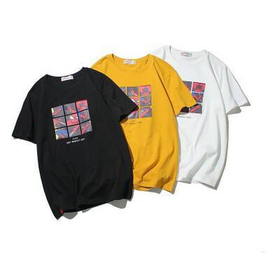 Compre Estilo Americano Rua Camiseta Moda Casual Spiderman Imprimir Camiseta  Japonesa Adolescente Bonito Estudante Tshirt De Manga Curta De Algodão Tees  De ... ea835ed2992e9