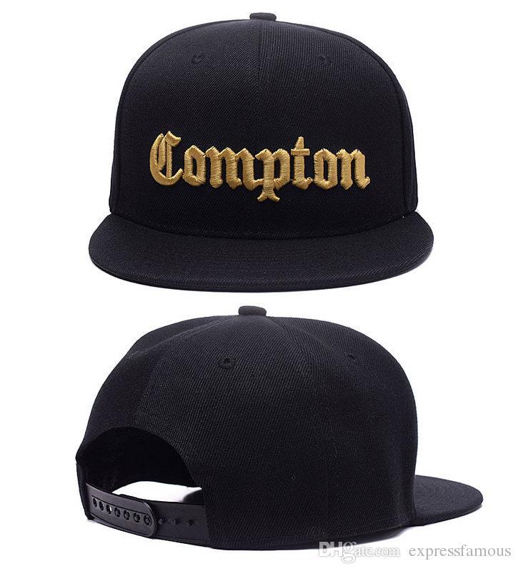 New Fashion SSUR Compton Snapback A iniciação do homens e mulheres Compton exclusivo bonés de beisebol ajustável hip hop bboy rua cap dancer