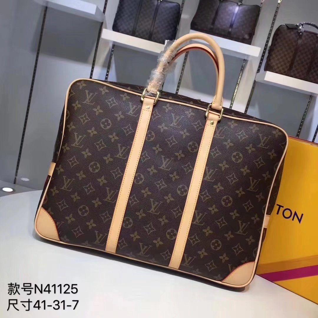 d52e942f86d3 2018 ILOUIS Vuitton 100% GENUINE LEATHER LOUIS BAG WOMEN AJ FASHION ...