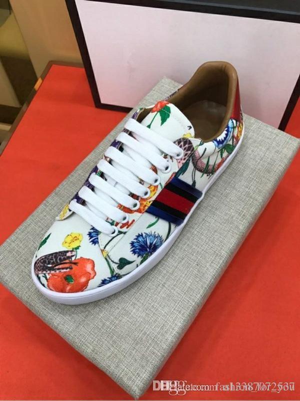timeless design 0841d 189b3 Acheter Fleur Fantaisie, Serpent, Graffiti, Toile De Haute Qualité, Design  De Luxe, Chaussures De Course À Lacets Pour Chaussures, Taille 38 45 De   102.54 ...