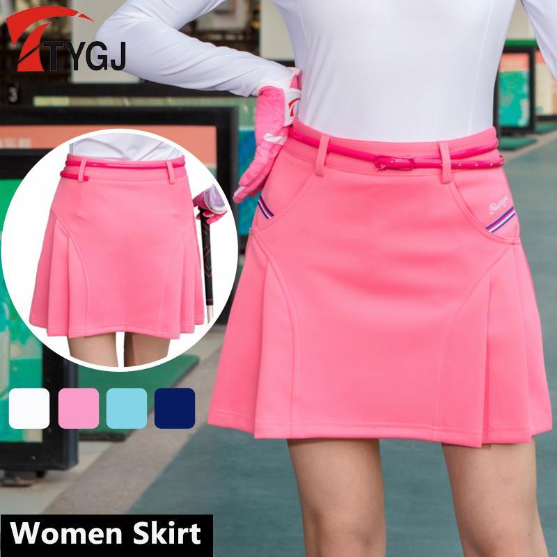 cheap for discount 44d68 32350 2019 New Women Skort Golf Skirt Ladies Short Skirt Summer Badminton Sports  Pleated School Tennis Skirts From Stem,  44.29   DHgate.Com