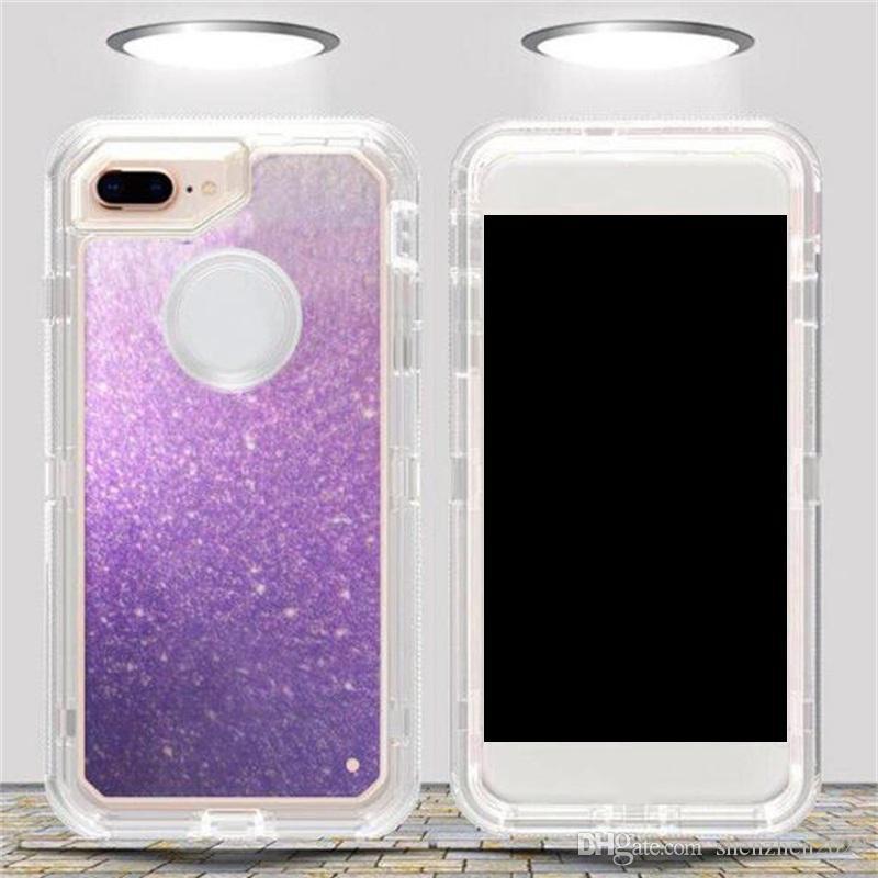 Für samsung galaxy s9 note 8 s8 plus klar künstlerische muster roboter case für iphone x 8 7 6 6 s hybrid kristall grafiken defender abdeckung 2018 neu