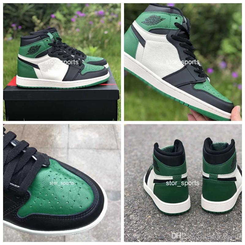 Green New Quality ShoesTop Og Mens 1s Basketball 2018 High Pine N0O8vmnw