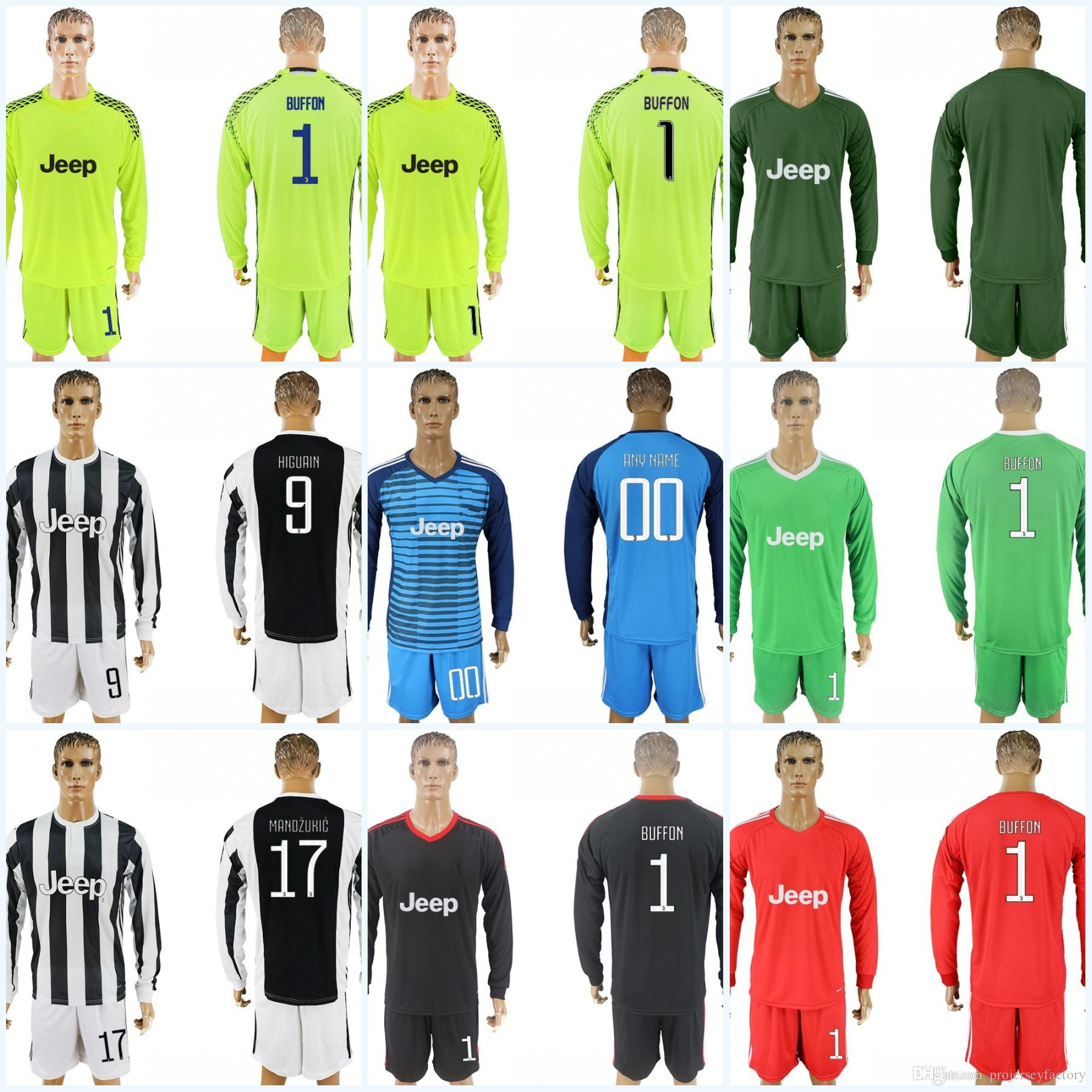 new products f6404 74f72 sweden juventus 1 buffon white soccer club jersey b6574 bb653