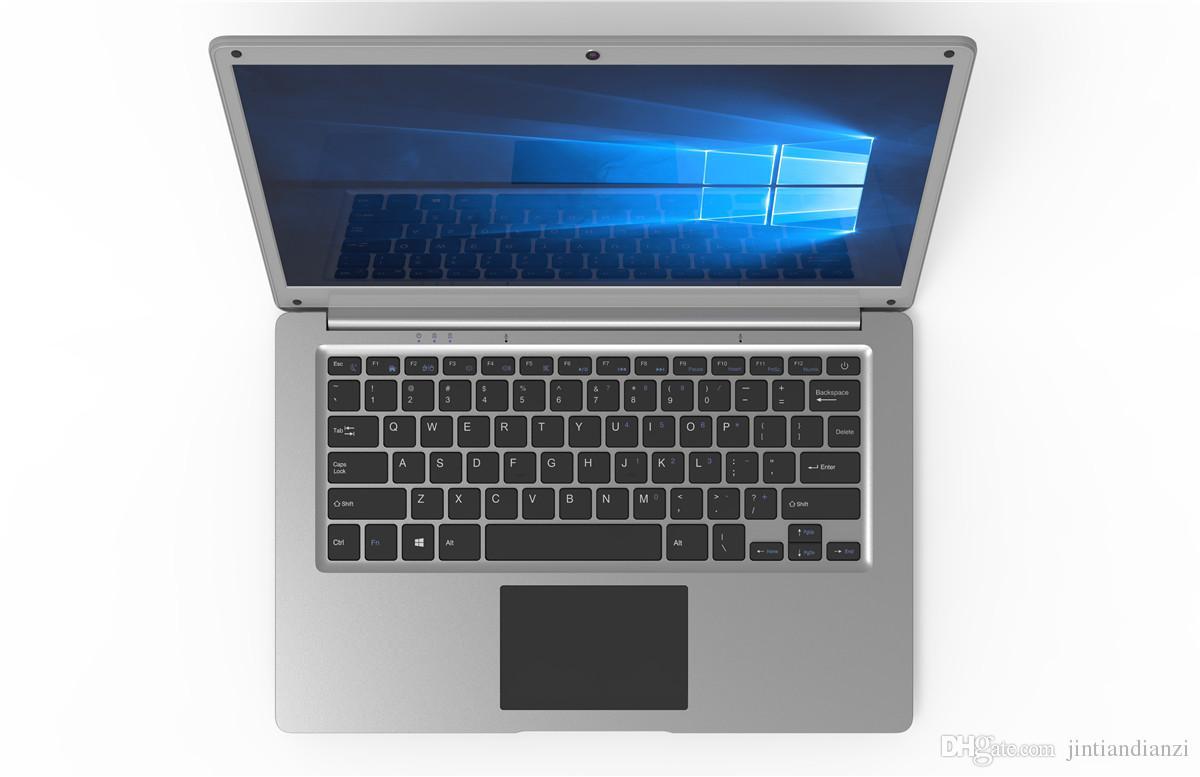 2018 spedizione gratuita 14 pollici mini computer portatile Windows 10 2G 4 GB RAM 32G 64 GB emmc notebook Ultrabook tablet con il prezzo più basso
