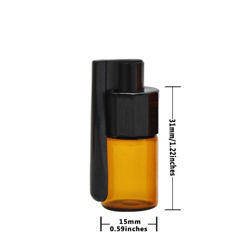 Schnupftabak Shop Flasche ausblenden Mini Boxs Nase Viele Farben Kunststoff Qualität Einfach einzigartige Entwurfs-Smoking Accessoires zu tragen