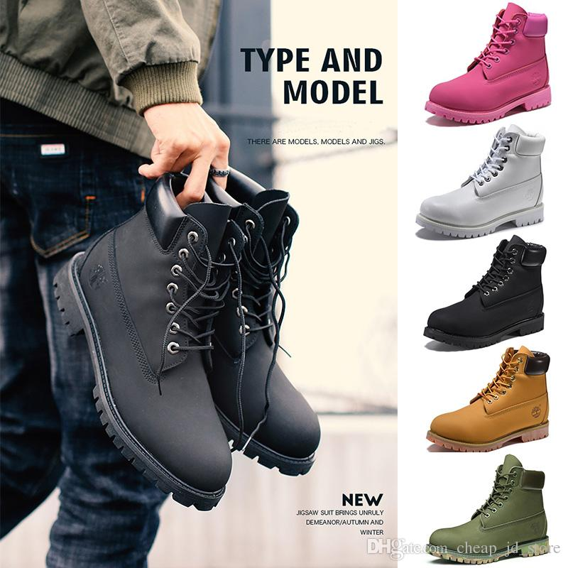 Acquista Timberland Boots Uomo Donna Designer Stivali Khaki Triple Nero  Bianco Camo Verde Marrone Martin Winter Taglia 36 46 Vendita Diretta A   103.11 Dal ... 7d05ce32ed0