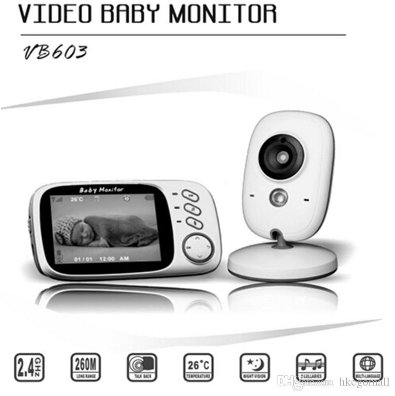 Fimei 3,2 pouces sans fil vidéo couleur vision nocturne moniteur bébé caméra bébé sommeil Nanny sécurité caméra caméra moniteur LCD