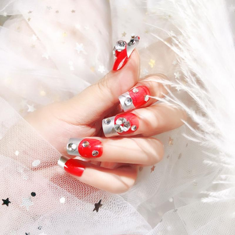 Professional Sale House Of Holland False Nails Glitter Bug Excellent In 24 Nails - 10 Sizes Quality