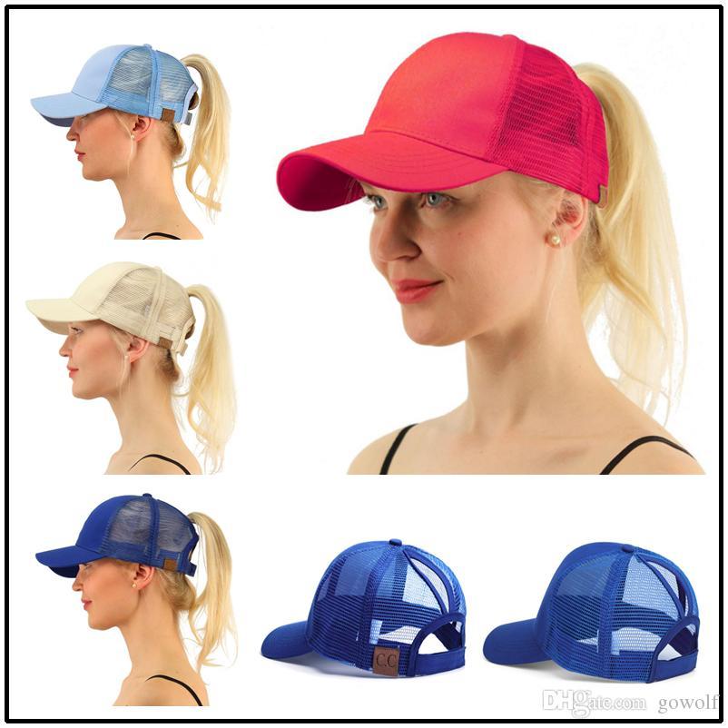 CC Brand Hat Casquette Women Ponytail Hats Snapbacks Designer Hats Baseball  Caps Bucket Hat Fitted Hats Brand Hat Casquette Snapback Online with   7.87 Piece ... 5cf692f614d