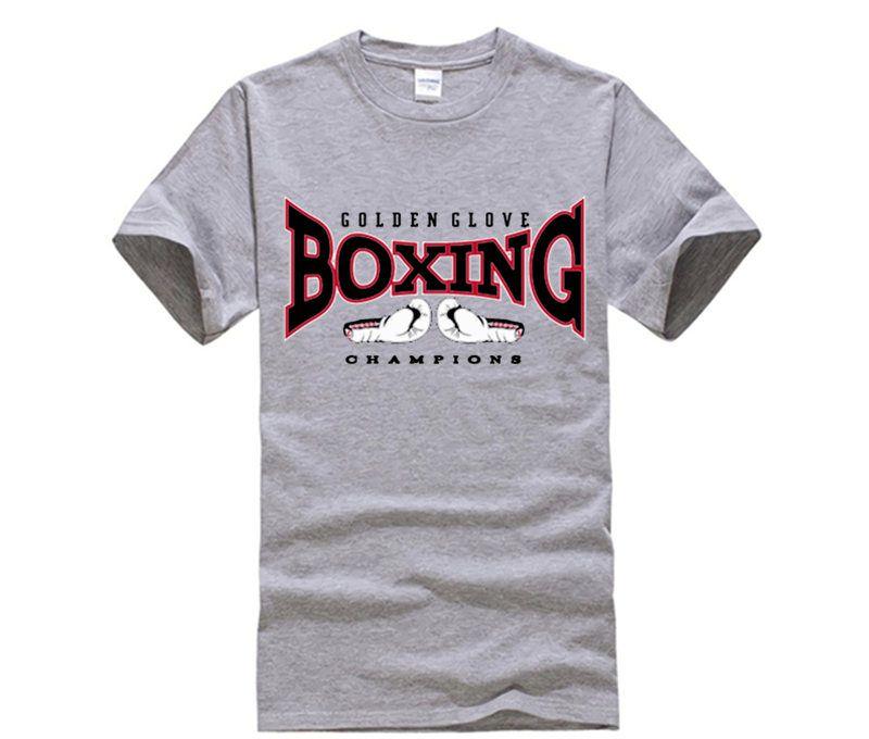 Maglietta Golden Boxe Glove T Fight Shirt Maglia Boxer Champions CBdoEQrxeW