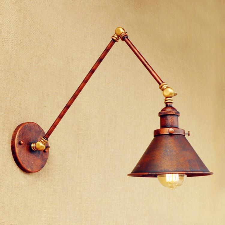 2018 Applique Murale Luminaire Loft Retro Vintage Wall Lamp Lights ...