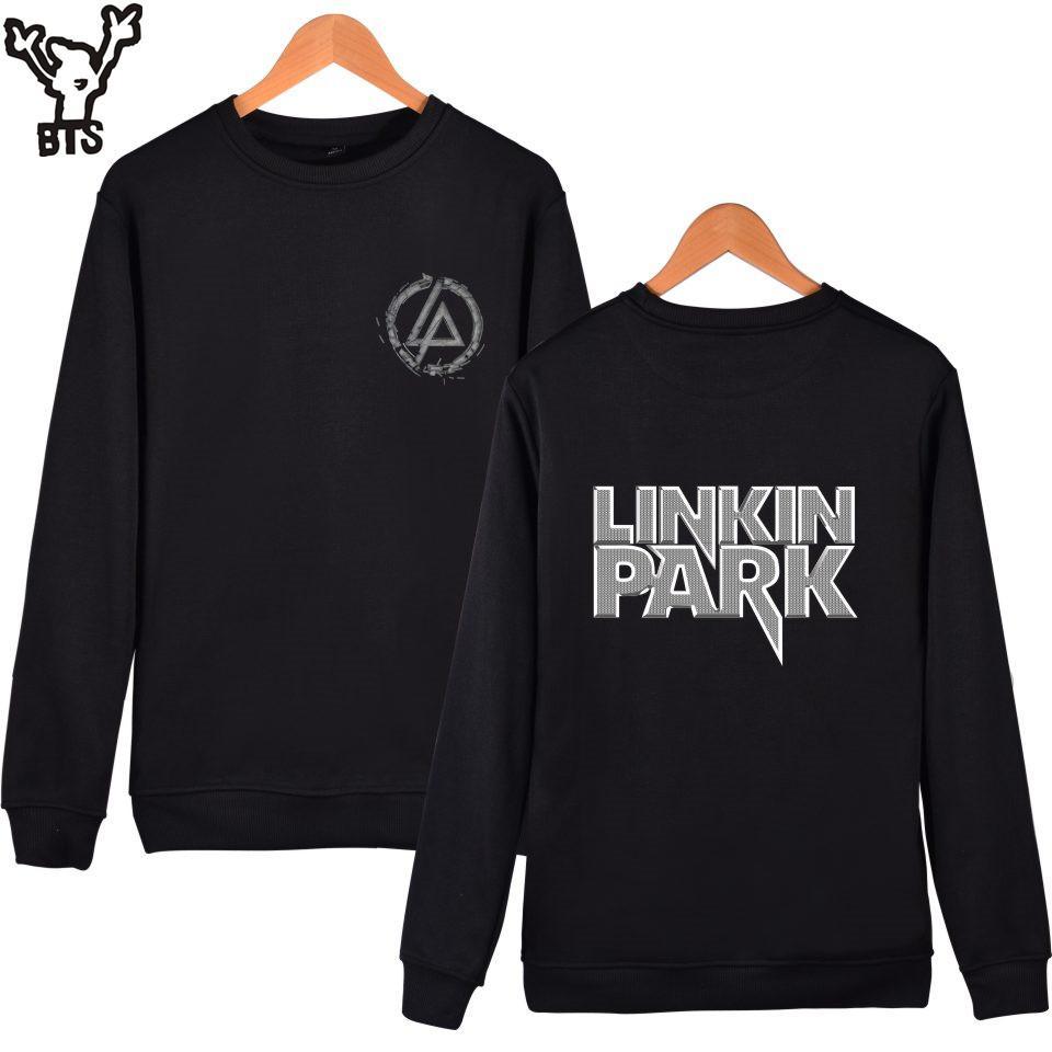 SMZY Linkin Park Sweatshirt Men Hoodie Winter United States Singer Hip Hop  Capless Hoodies Men/Women Famous Singers Fans Clothes