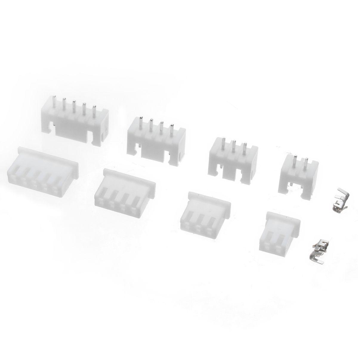 CT07 Borne de connecteur d'en-tête de boîtier de borne de pas de 2/3/4 / 5Pin de 2,54 mm