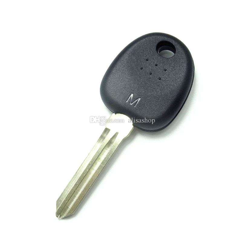 Right Key Blade Transponder Chip Key Shell Case for HYUNDAI Coupe Tucson Elantra Accent Santa Fe