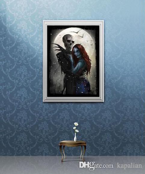 2019 Jack And Sally Meant To Be Nightmare Before Christmas Art