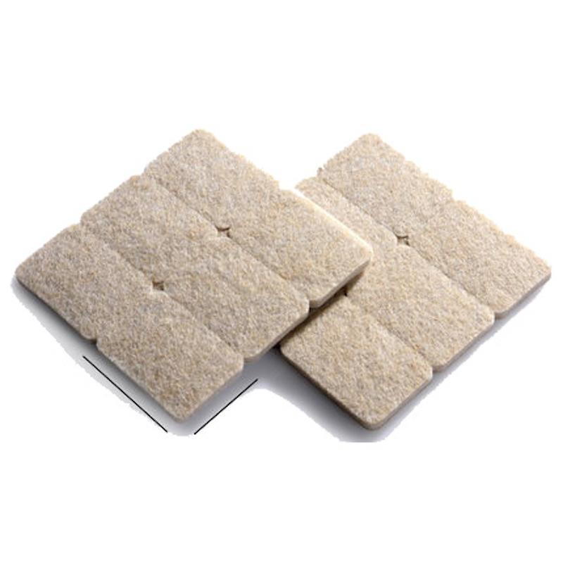 12 Pieces 28 X 42mm Cushion Felt Pads For Table Chair Sofa Leg Legs Felt Desk Pad Protector Furniture Pads Abrasion