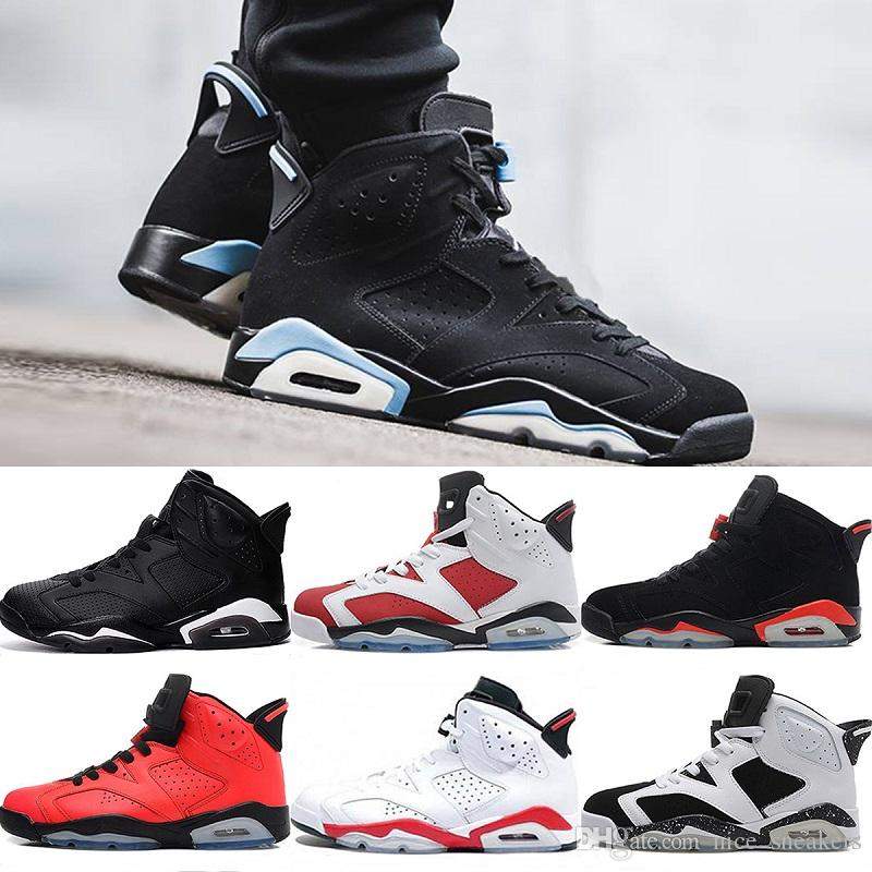 2018 6 6s Men Basketball Shoes UNC 3M Black cat Infrared 23 Carmine Maroon Oreo High quality women sports Sneakers eur 40-46 shop sale online hot sale sale online cheap authentic outlet visit for sale gy5Mrlq