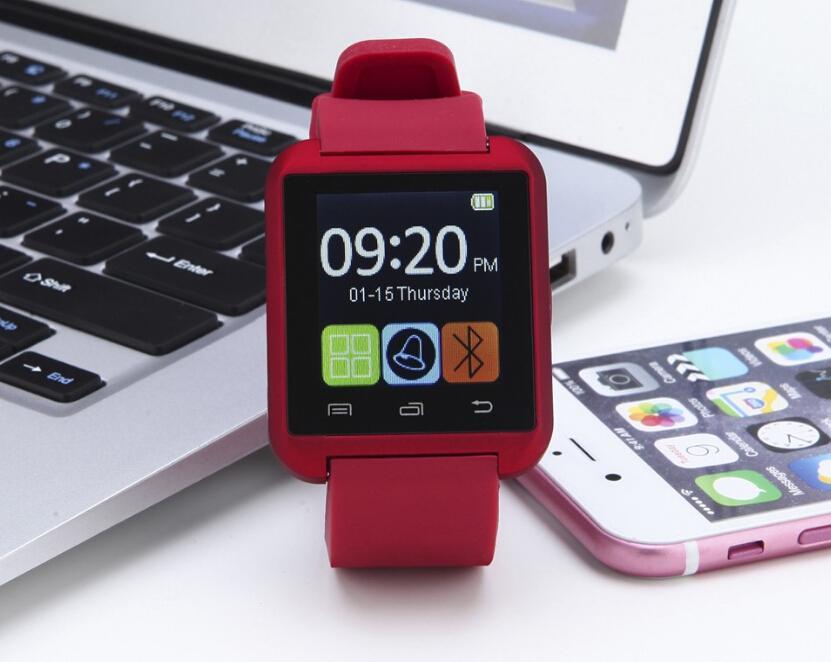 Sport Bluetooth Smart Watch U8 Wrist Watch U8 SmartWatch For iPhone  4/4S/5/5S/6 Samsung S4/Note/s6 HTC Android Phone watch