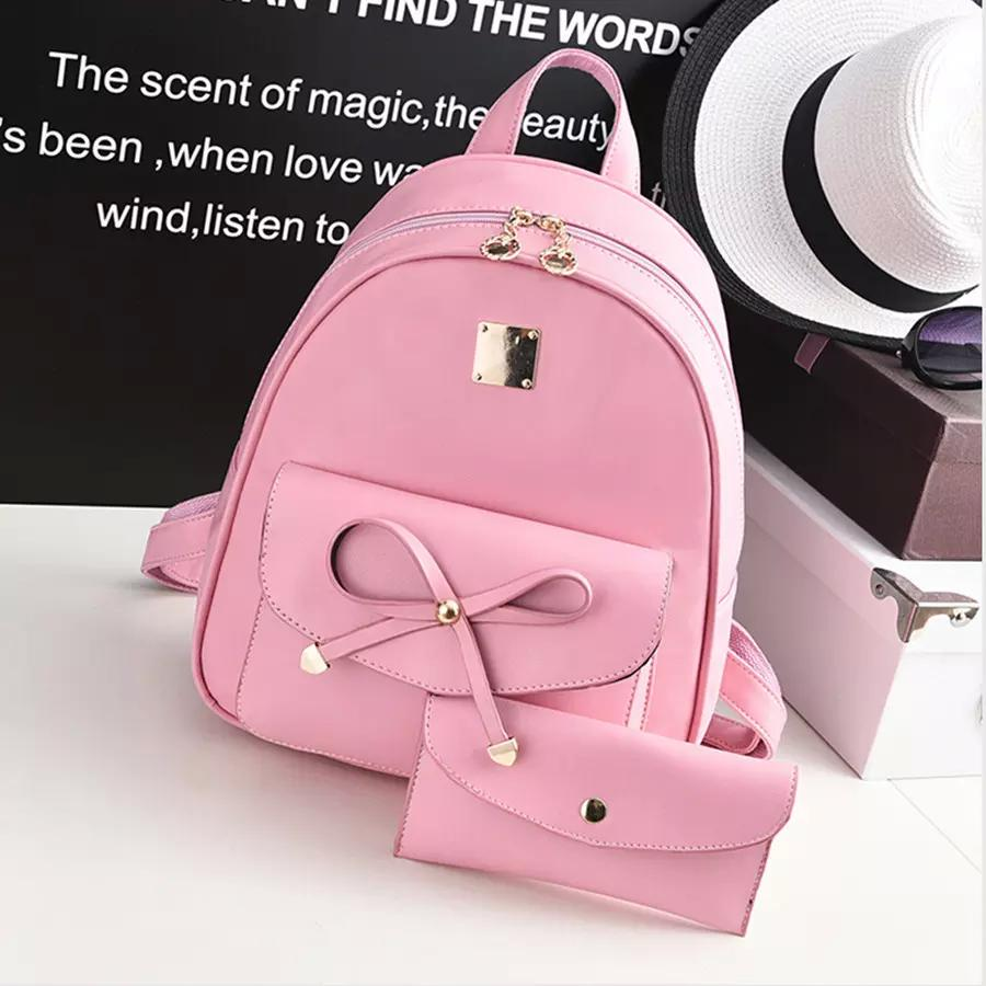 Fashion Backpack Women Backpack Leisure Student Schoolbag PU Leather Women Bag  Designers Brand For Teenage Girl Army Backpack Water Backpack From Tunian 9179f3edcf2c0