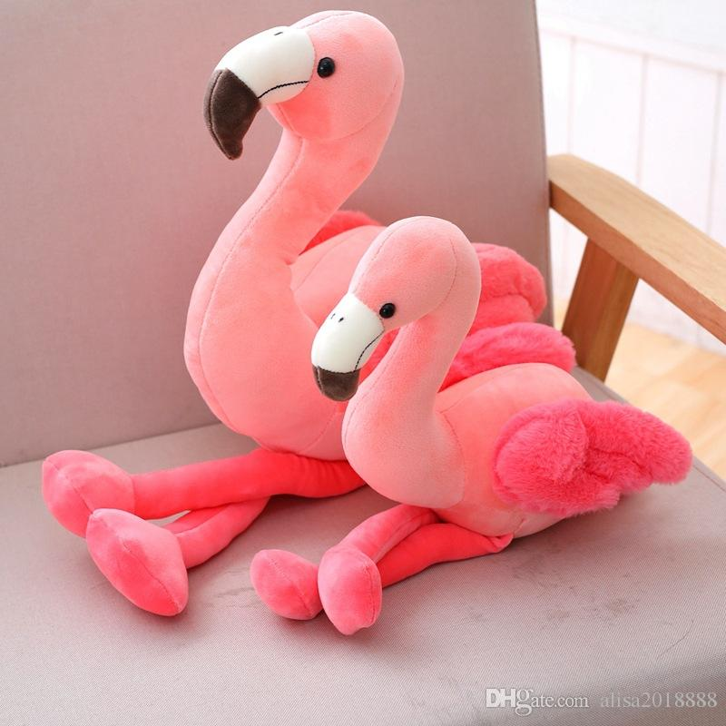 Flamingo Plush Toy Doll 3 Different Size Soft Pillow Stuffed Toy