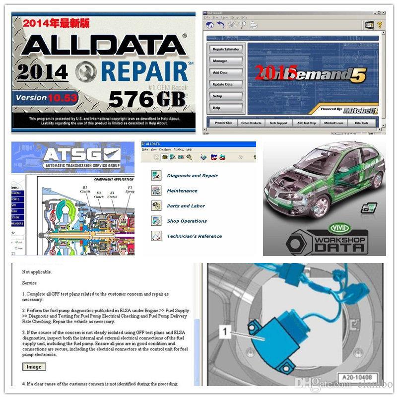 newest alldata 10 53 mitchell dem//and vivid workshop heavy truck atsg all  data auto repair hdd 1tb usb3 0