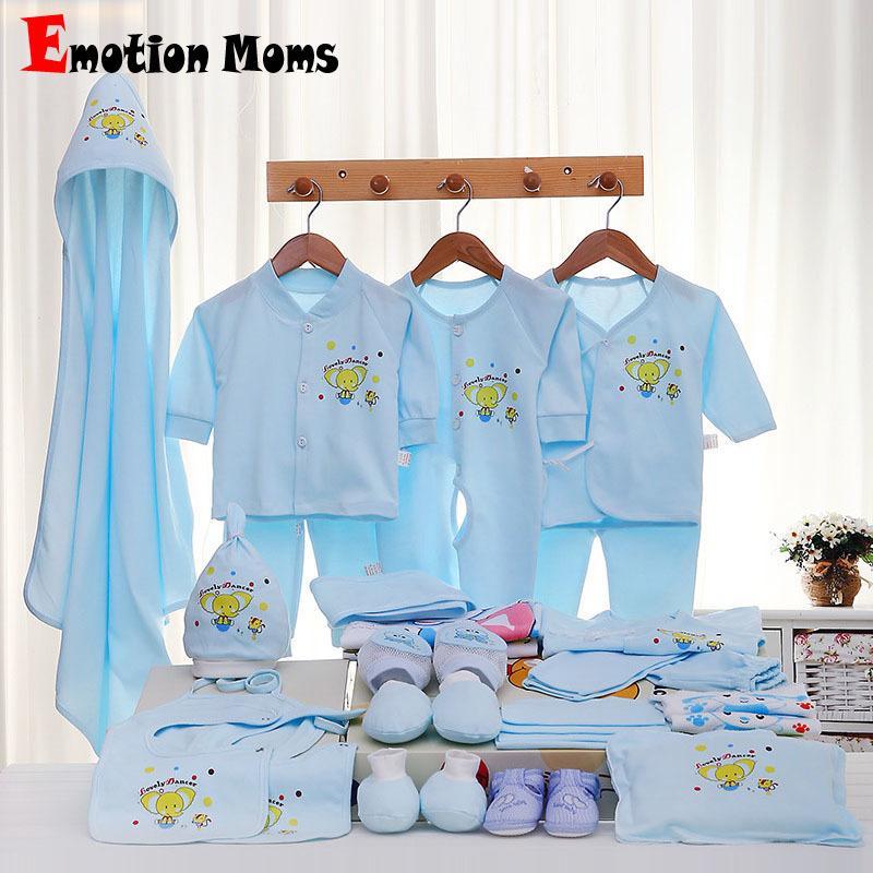 ff9eac94ebdb 2019 Emotion Moms Newborn Baby Girls Clothes Cotton 0 6months ...