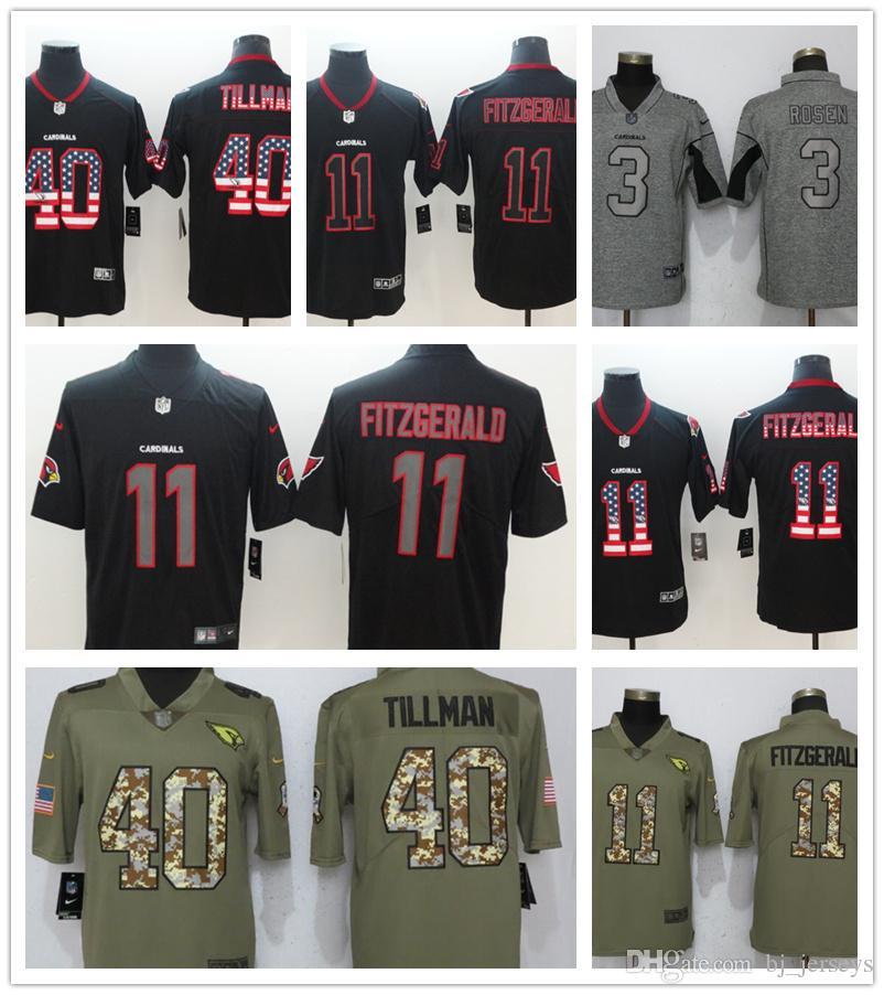 c7b5cf5d9 Best Quality Arizona Jersey Cardinals 11 Larry Fitzgerald 3 Josh ...