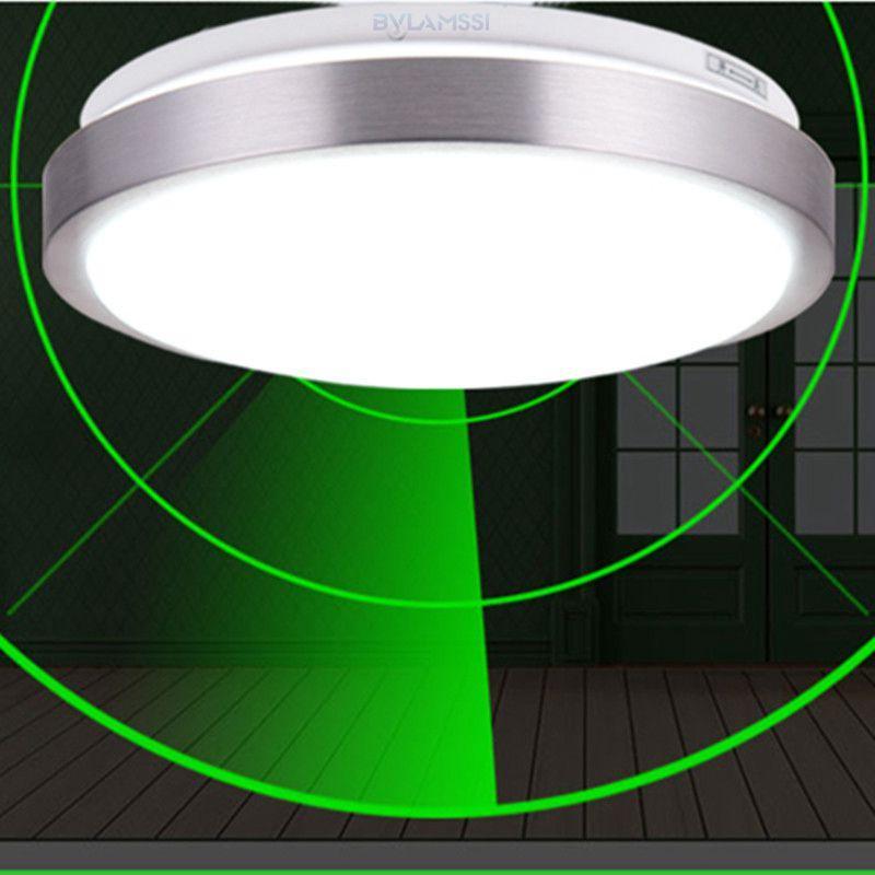 2018 Radar Motion Sensor Ceiling Lights White Round Led Light ...