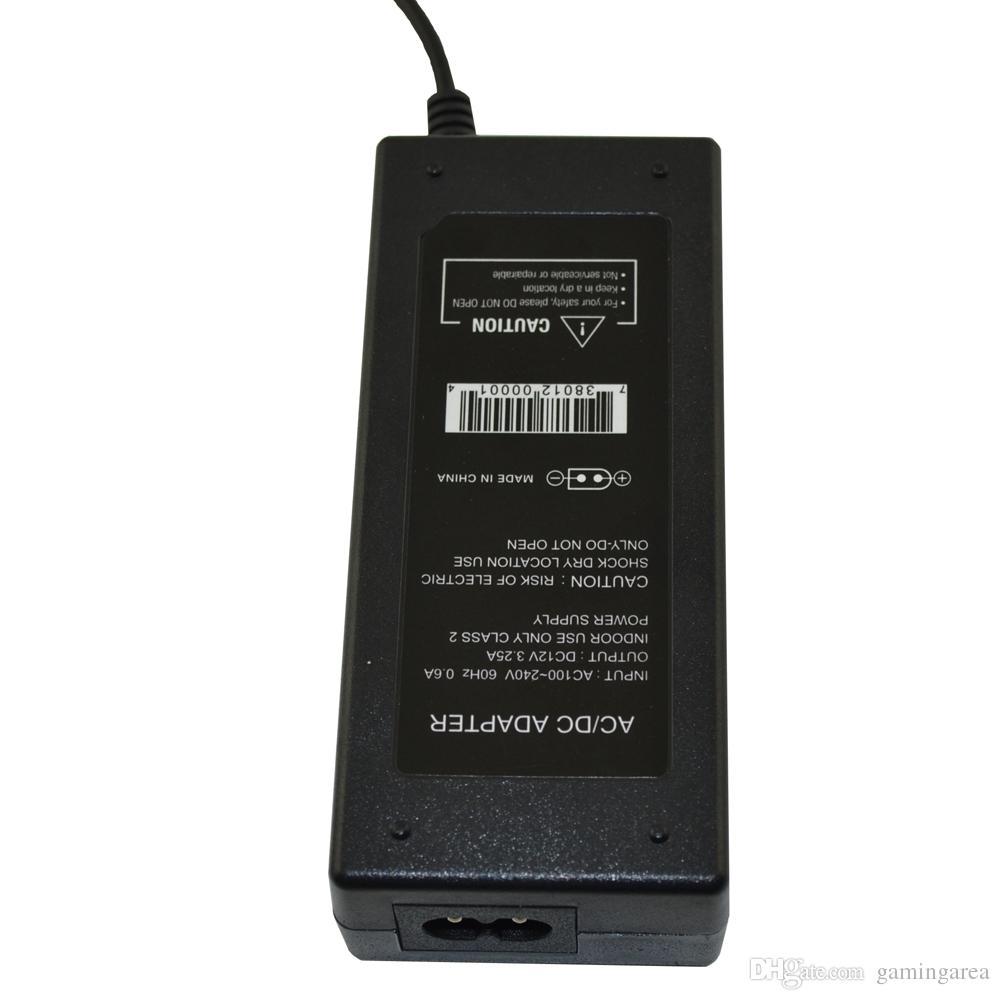 EE. UU. UE Adaptador de CA Adaptador de alimentación Cargador para consola Gamecube NGC con cable de alimentación DHL FEDEX EMS ENVÍO GRATIS