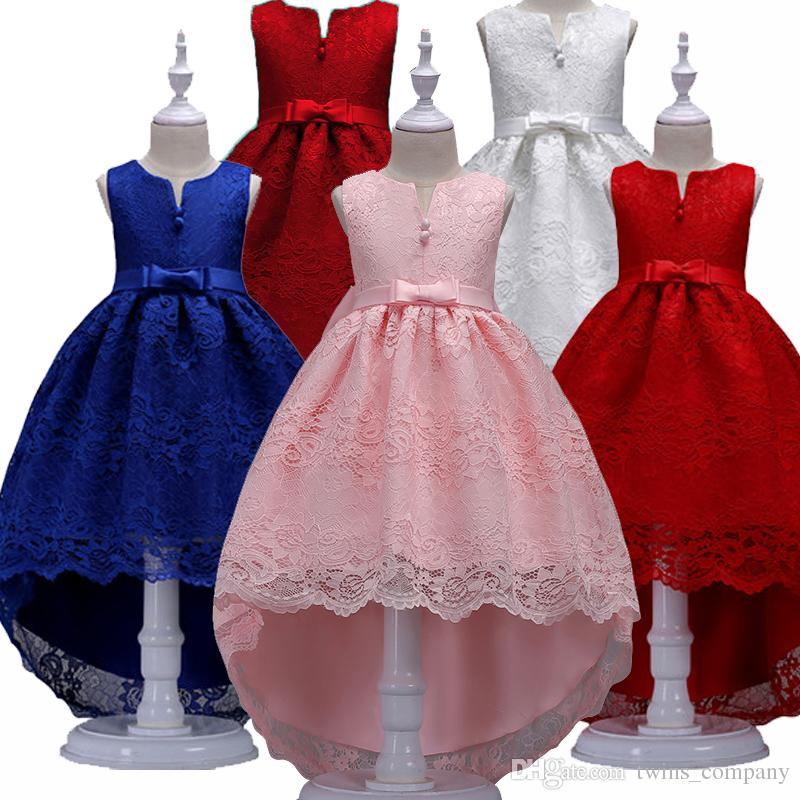 2018 Girls Dress For Girls Party Dresses Baby Sleeveless Tutu ...