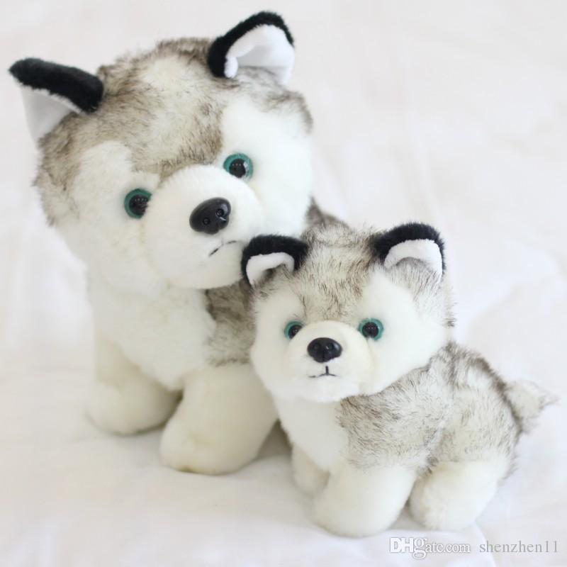 2019 New Husky Dog Plush Toys Stuffed Animals Toys Hobbies 7 Inch