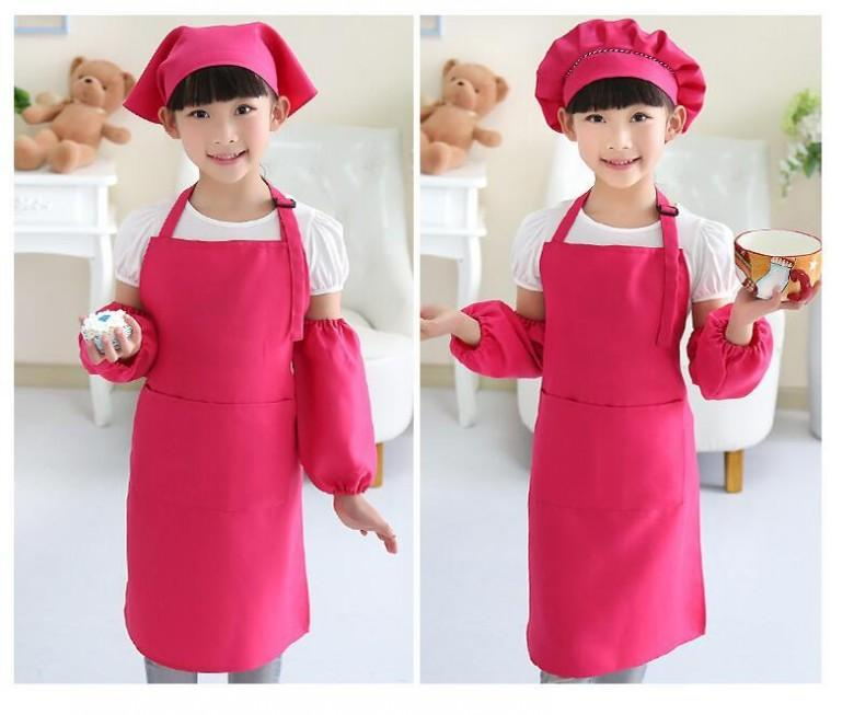 Kids Aprons Pocket Craft Cooking Baking Art Painting Kids Kitchen Dining  Bib Children Aprons Kids Aprons Lead Apron Apron Pattern From Bestller886,  ...
