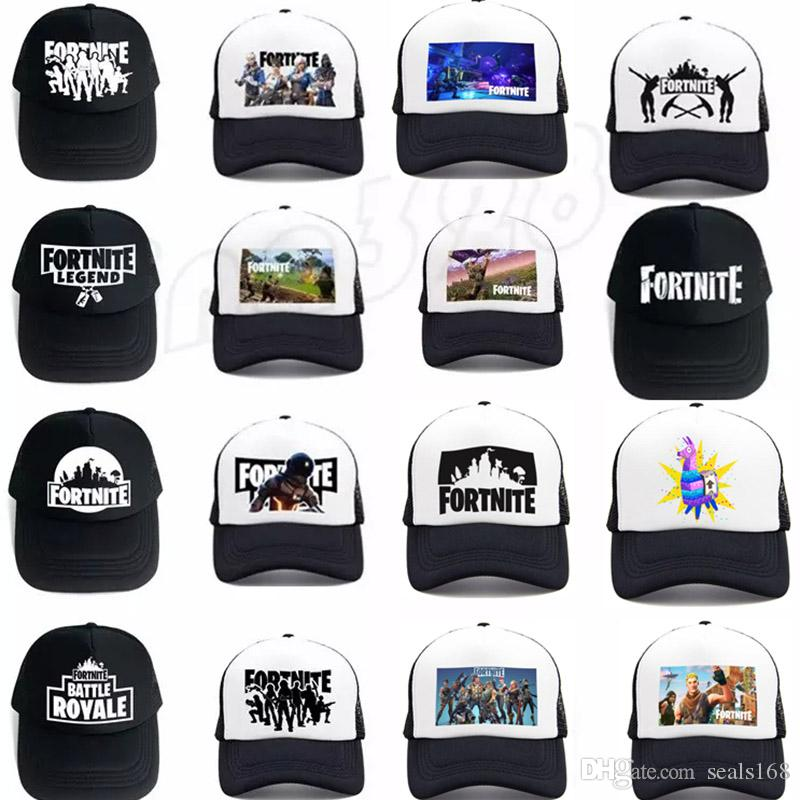 e46cb821f76 New Fornite Snapback Hat Baseball Cap Unisex Men Women Mesh Net ...
