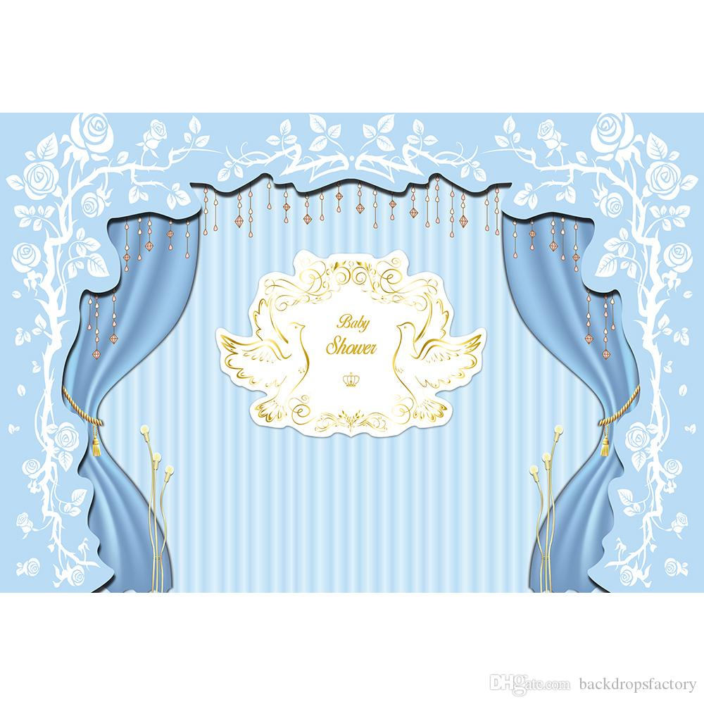 Backdrop Baby Shower Baby Shower Invitations