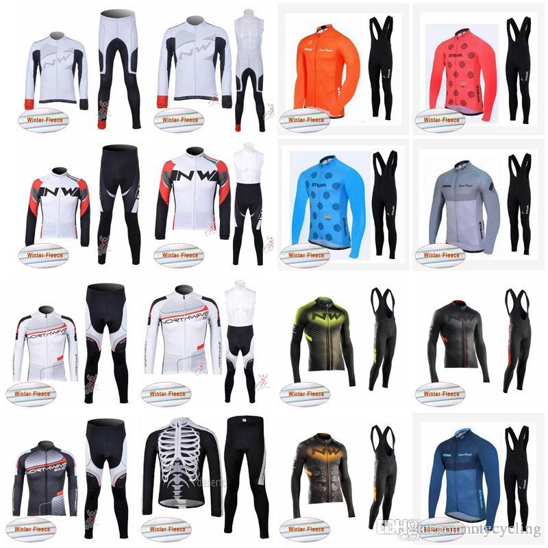 STRAVA NW Cycling Winter Warm Wool Cloth Bib Pants Suit Men S High Quality  High Performance Bike Ropa Ciclismo For Your Choice A42720 Cycling Outfit  Baggy ... c2e0a338b