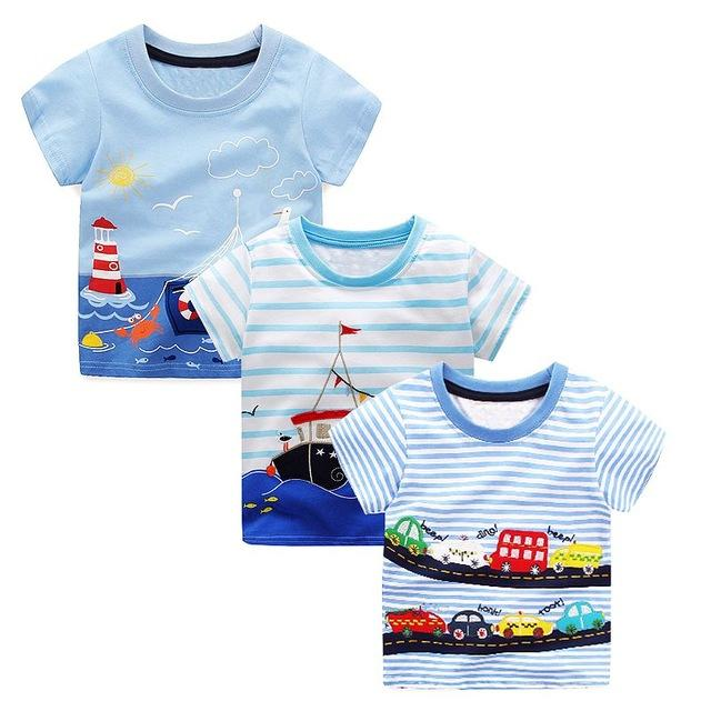 2018 Toddler Tshirt For Boys Clothes Baby Boy Summer Tops Character Kids  Cotton T Shirt Boys Clothing Children T Shirts Fille From Roohua 76e441c65ae