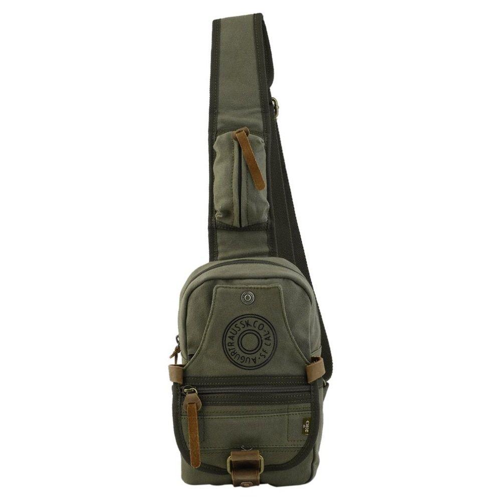 d2786e9c5b36 Versatile Large Capacity Vintage Canvas Shoulder Messenger Bag Chest Bag  Casual Adjustable Strap Drop Shipping Small Purses Designer Crossbody Bags  From ...