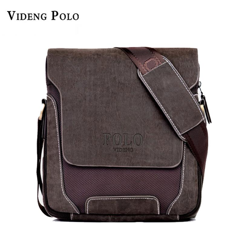 b2f2333fdf08 POLO PU Leather Men Shoulder Bag Casual Business Mens Canvas Messenger Bag  Laptop Vintage Men s Crossbody Bolsas Male Tote Relic Purses Fashion Bags  From ...