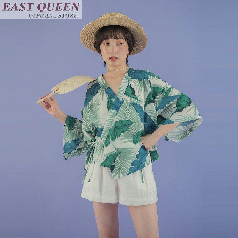 c09dd78f4 Summer 2018 Traditional Japanese Kimonos Beach Kimono Japanese Kimono  Yukata Cardigan Haori New Hot Sale Tops FF568 A Asia & Pacific Islands  Clothing Cheap ...