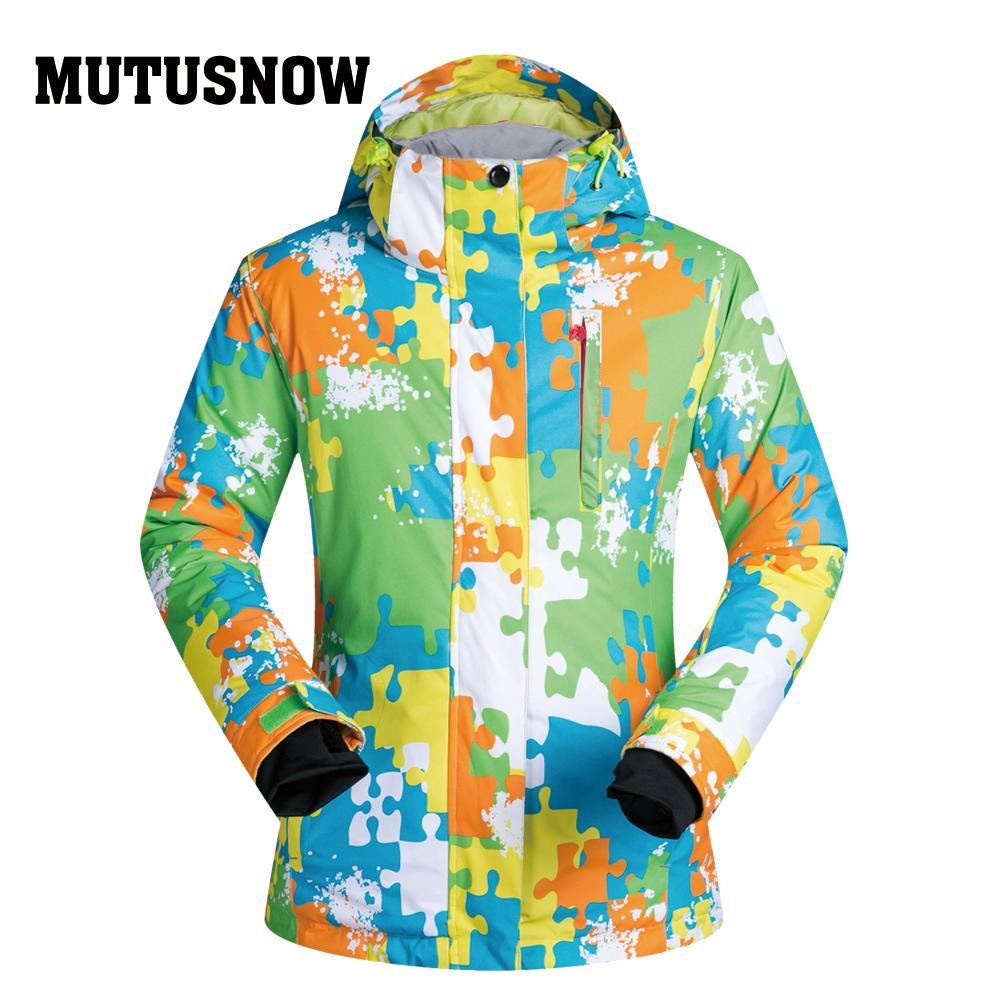c01f4cb471 Snowboard Women Jacket Brands Outdoor Windproof Camouflage Thermal ...
