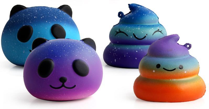 Acquista squishy sgabello panda lento rimbalzo giocattoli pu