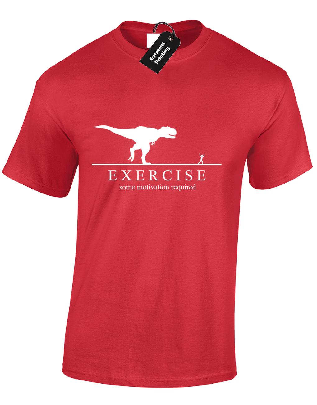 Compatible with Source · EXERCISE DINOSAUR MENS T SHIRT RUNNING FASHION  DESIGN TOP BIG SIZES 30cf79f00