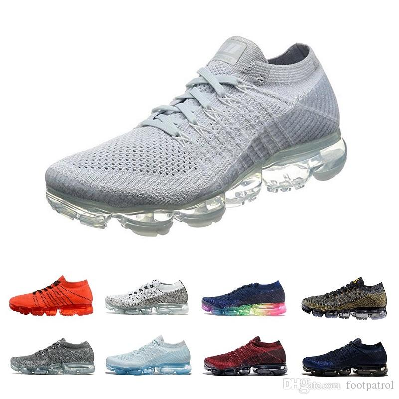 c0d2ed3c2b6d49 2018 Vapormex Running Shoes Mens Ourdoor Athletic Sporting Walking Sneakers  for Women Men 2017 Fashion Casual Vapor Mex Size 36-45 Vapor Tn 97 Online  with ...