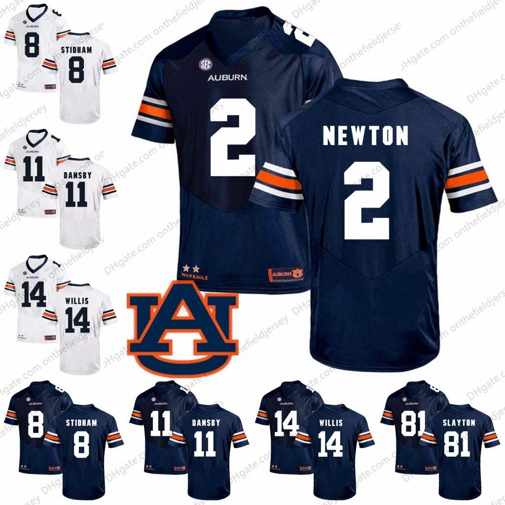 4b222f3df Auburn Tigers NCAA Football  2 Cam Newton 7 Pat Sullivan 44 Cameron ...
