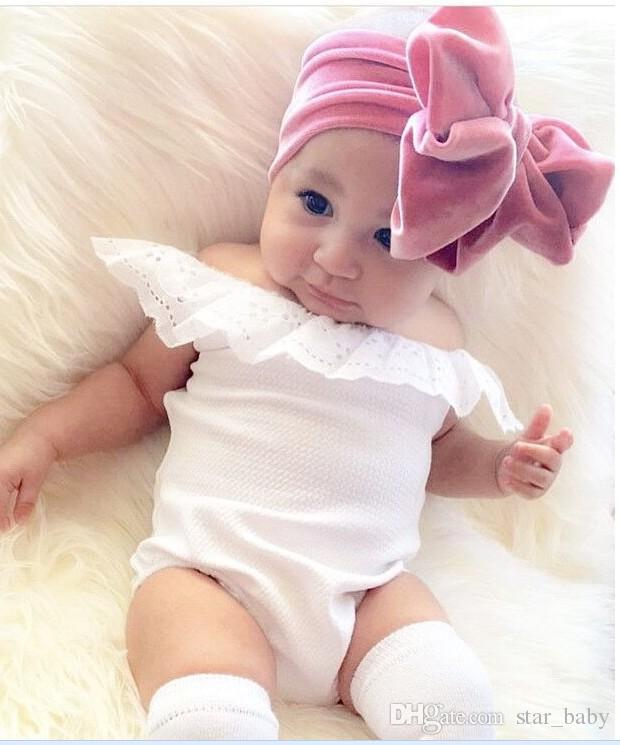 Großhandel 11 Farben Baby Stirnband Breit Elastic Weichen Bogen ...