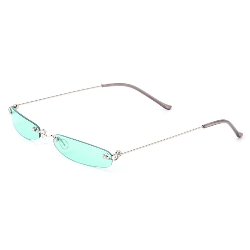 2018 Chic Vintage Fashion UV400 Brand Designer Small Lens Women Men  Sunglasses