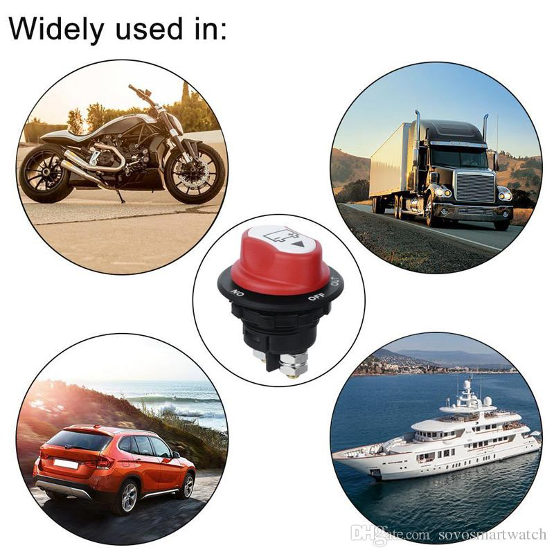 Car Battery Switch 32V DC100A Car Mini Battery Selector Switch 100A