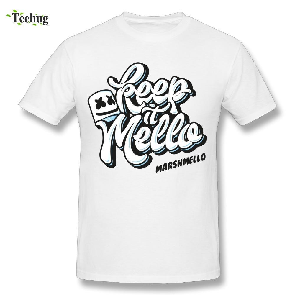 compre 3d impressão masculina dj marshmello t shirt música amor hip